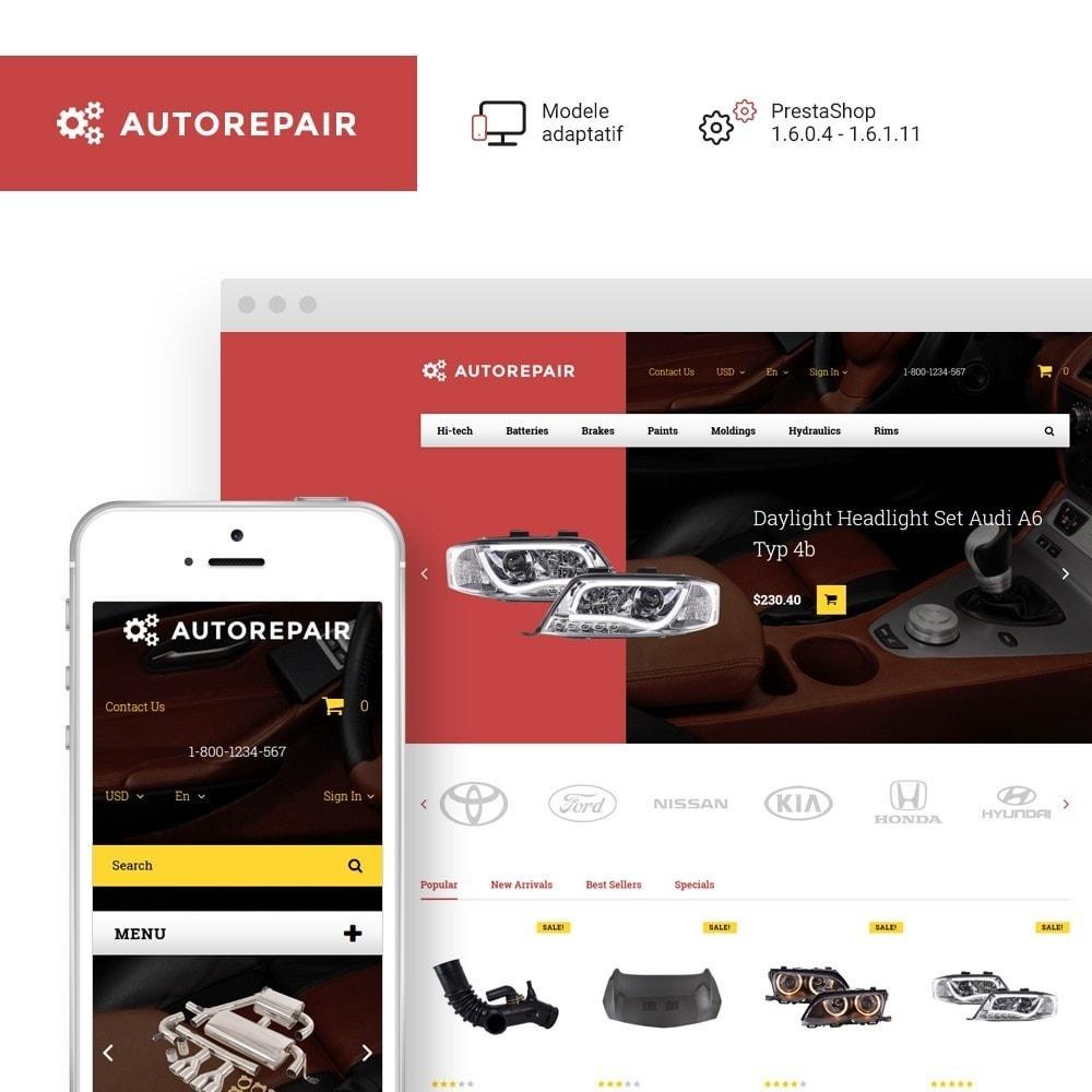 theme - Auto & Moto - Autorepair - thème PrestaShop adaptatif - 1