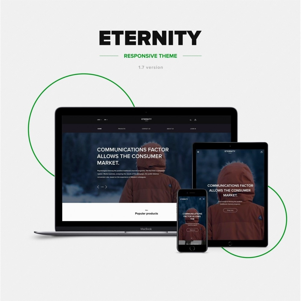theme - Mode & Schuhe - Eternity - Clothes Store - 1
