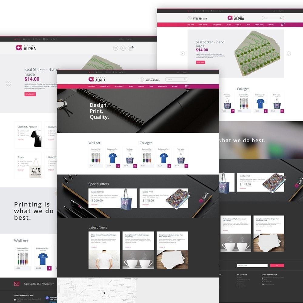 theme - Искусство и Культура - PrintAlpha - шаблон для магазина полиграфии - 3