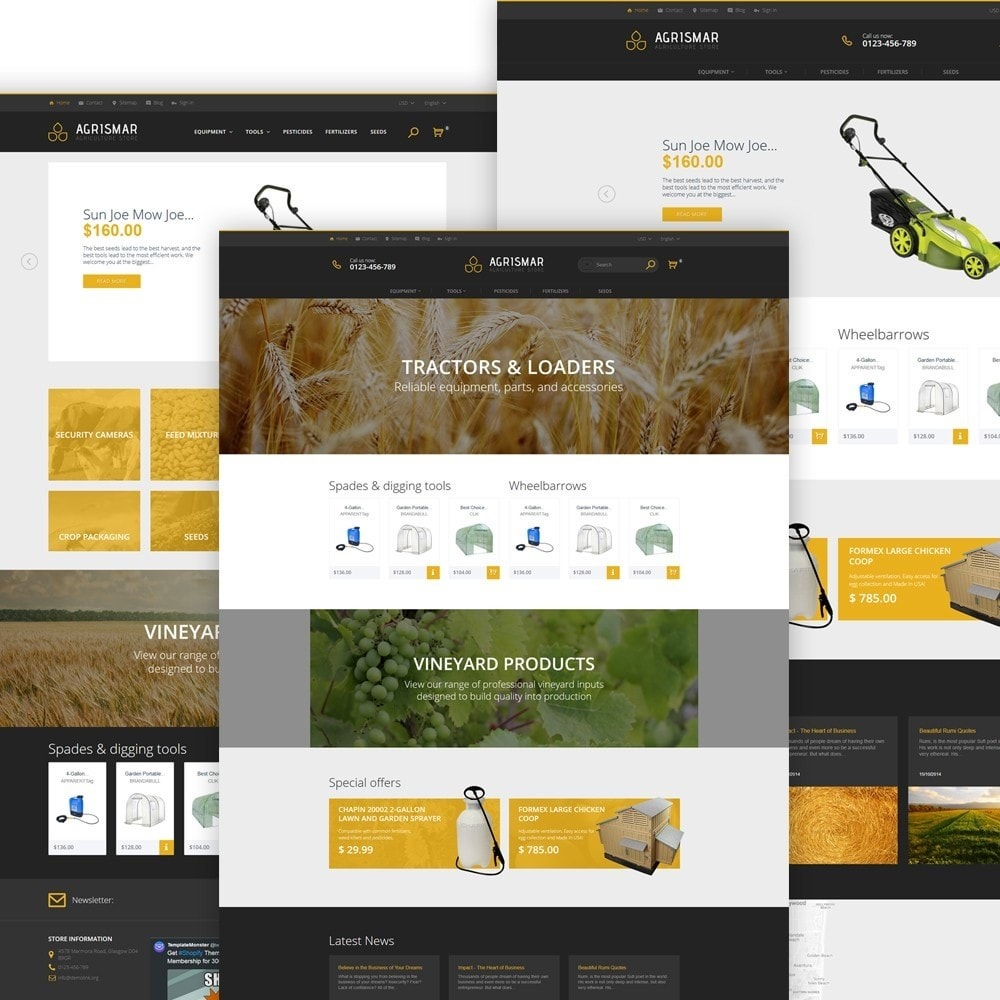 theme - Home & Garden - Agrismar - Agriculture Store - 2