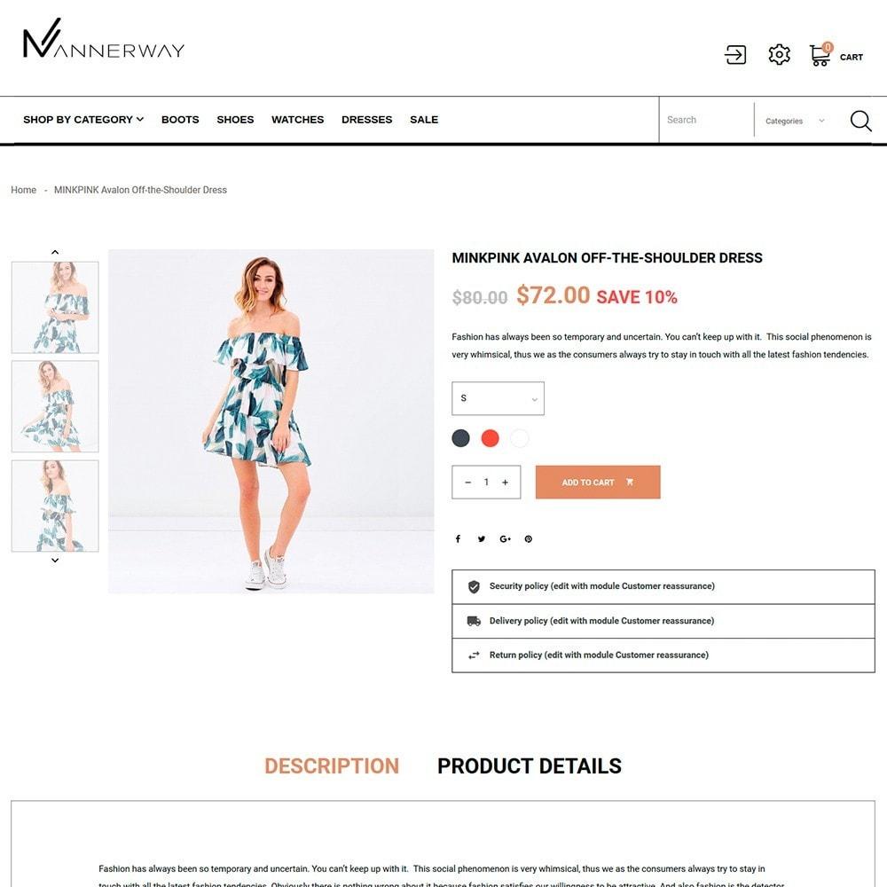 theme - Mode & Chaussures - Mannerway - Vêtements et Accessoires - 5