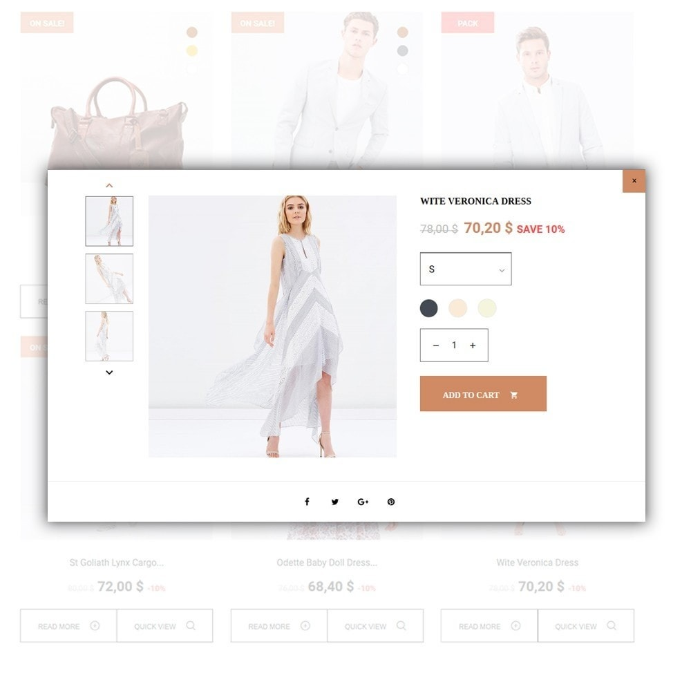 theme - Мода и обувь - Lunalin - шаблон модной одежды - 6