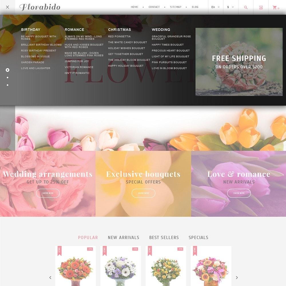 theme - Prezenty, Kwiaty & Uroczystości - Florabido - Bouquets & Floral Arrangement - 4
