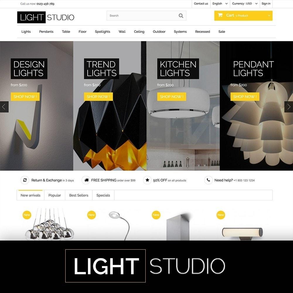 theme - Home & Garden - Light Studio - 1