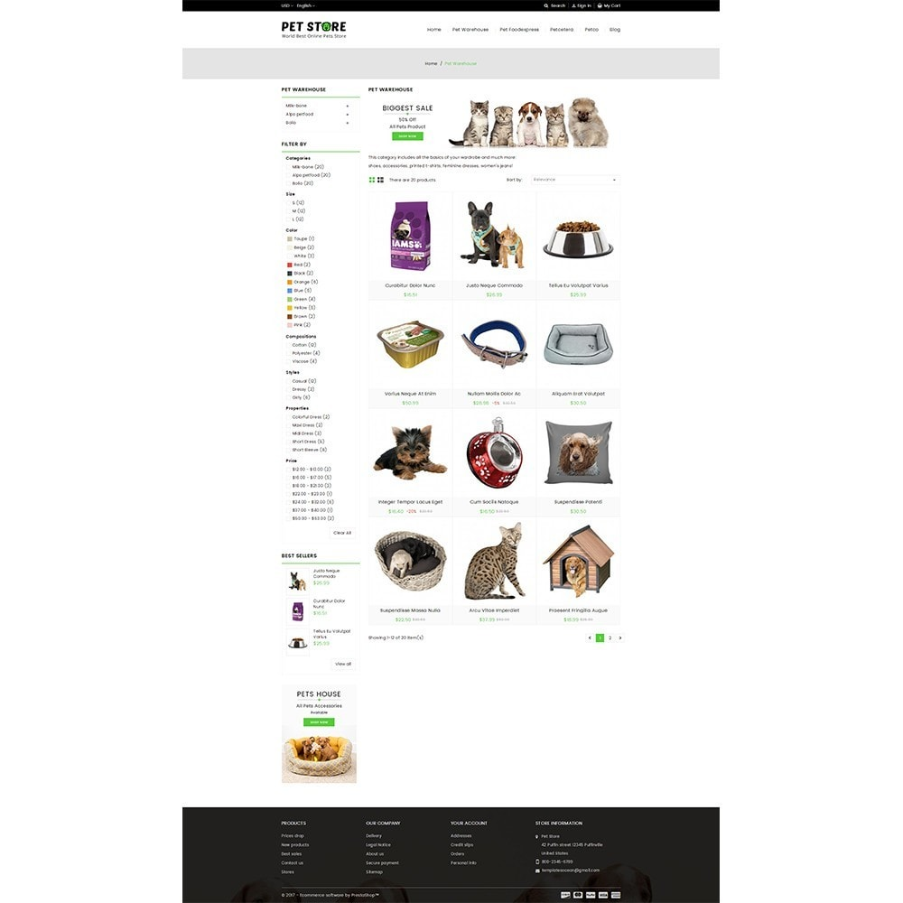 theme - Animales y Mascotas - Pet Store - 3
