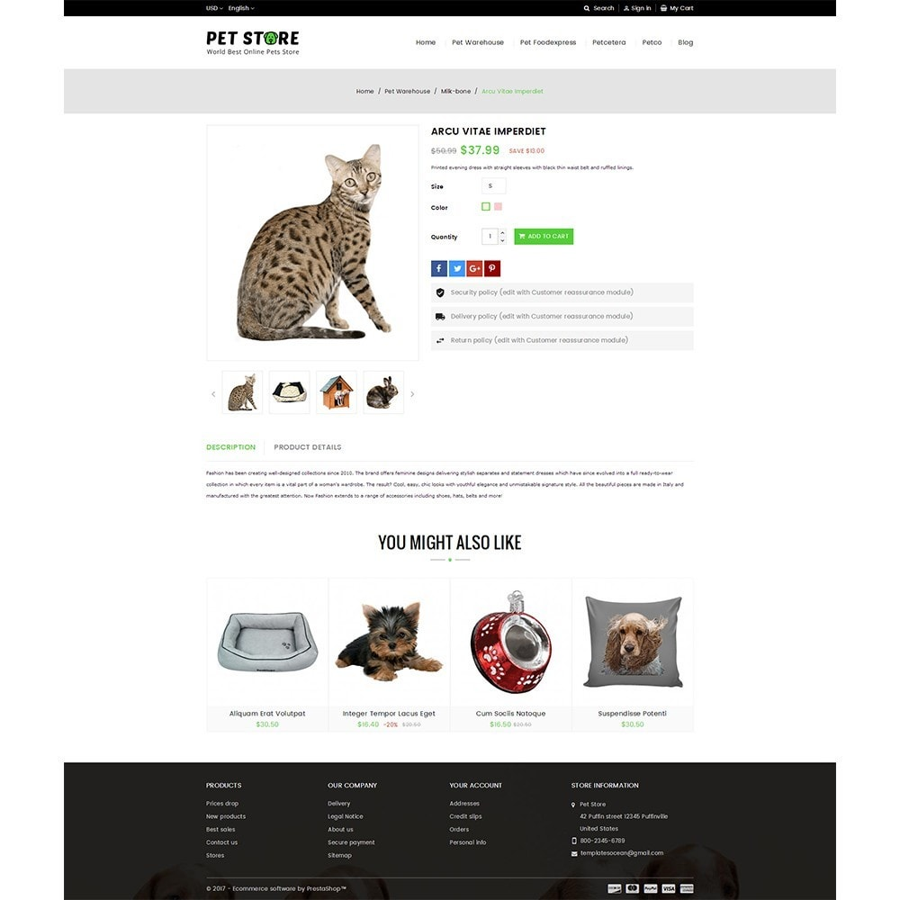 theme - Animales y Mascotas - Pet Store - 5