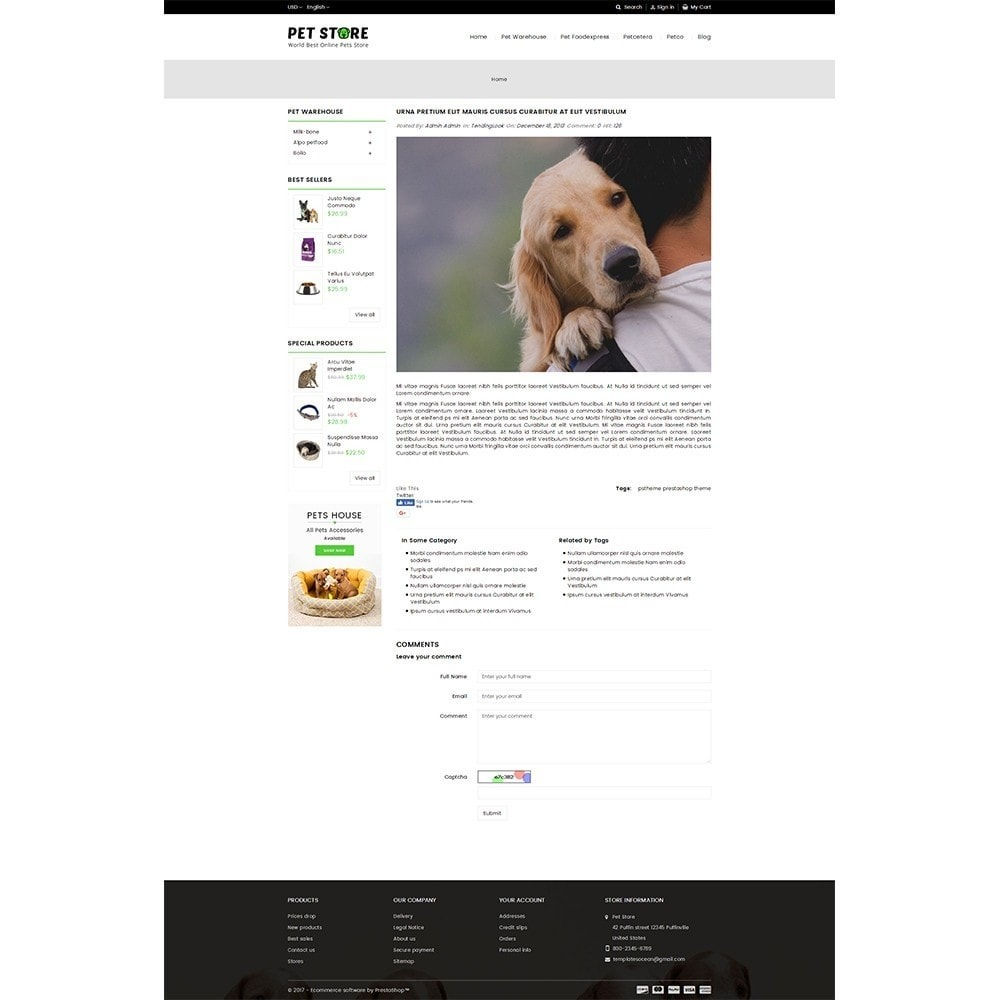 theme - Animales y Mascotas - Pet Store - 8