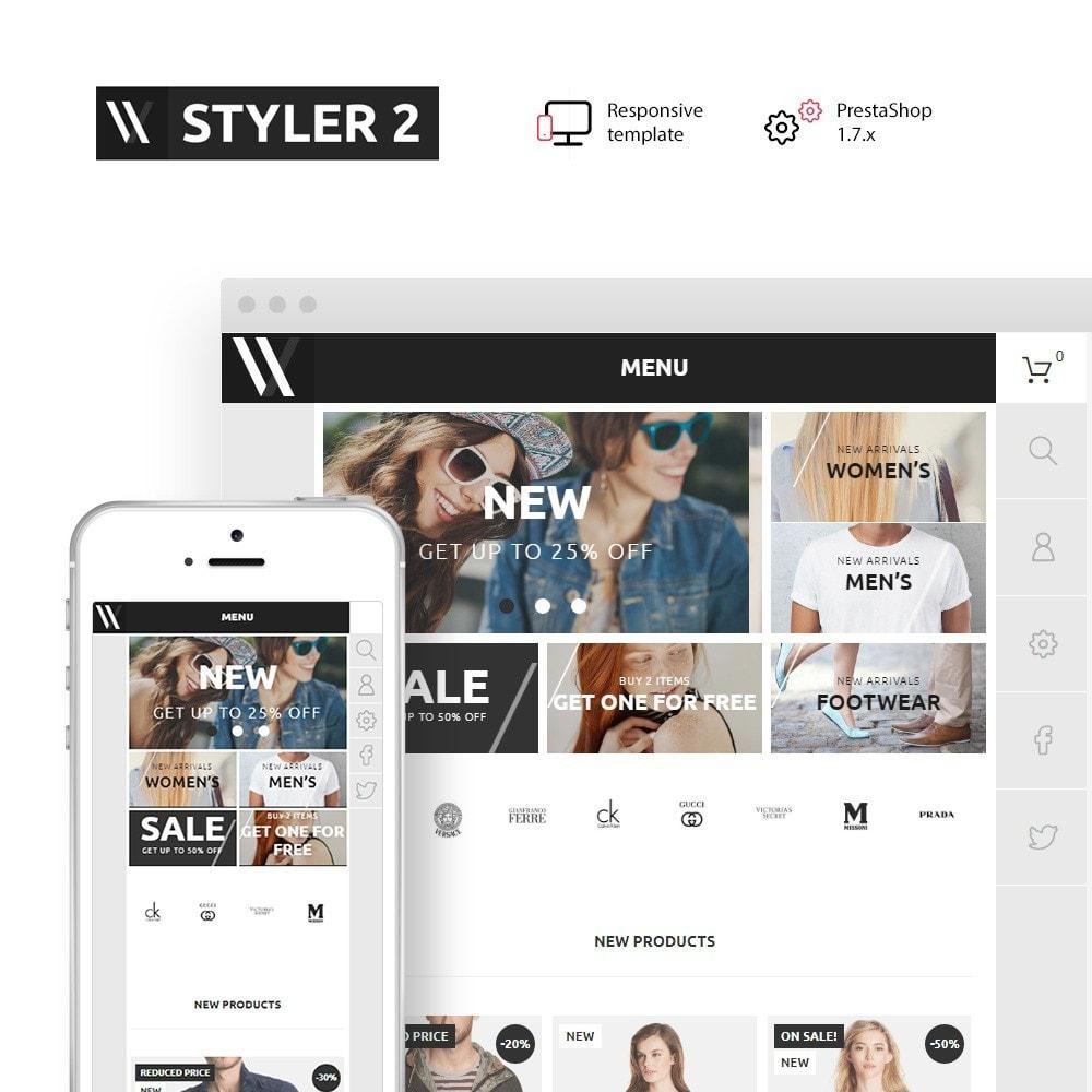 theme - Fashion & Shoes - Styler 2 - 1