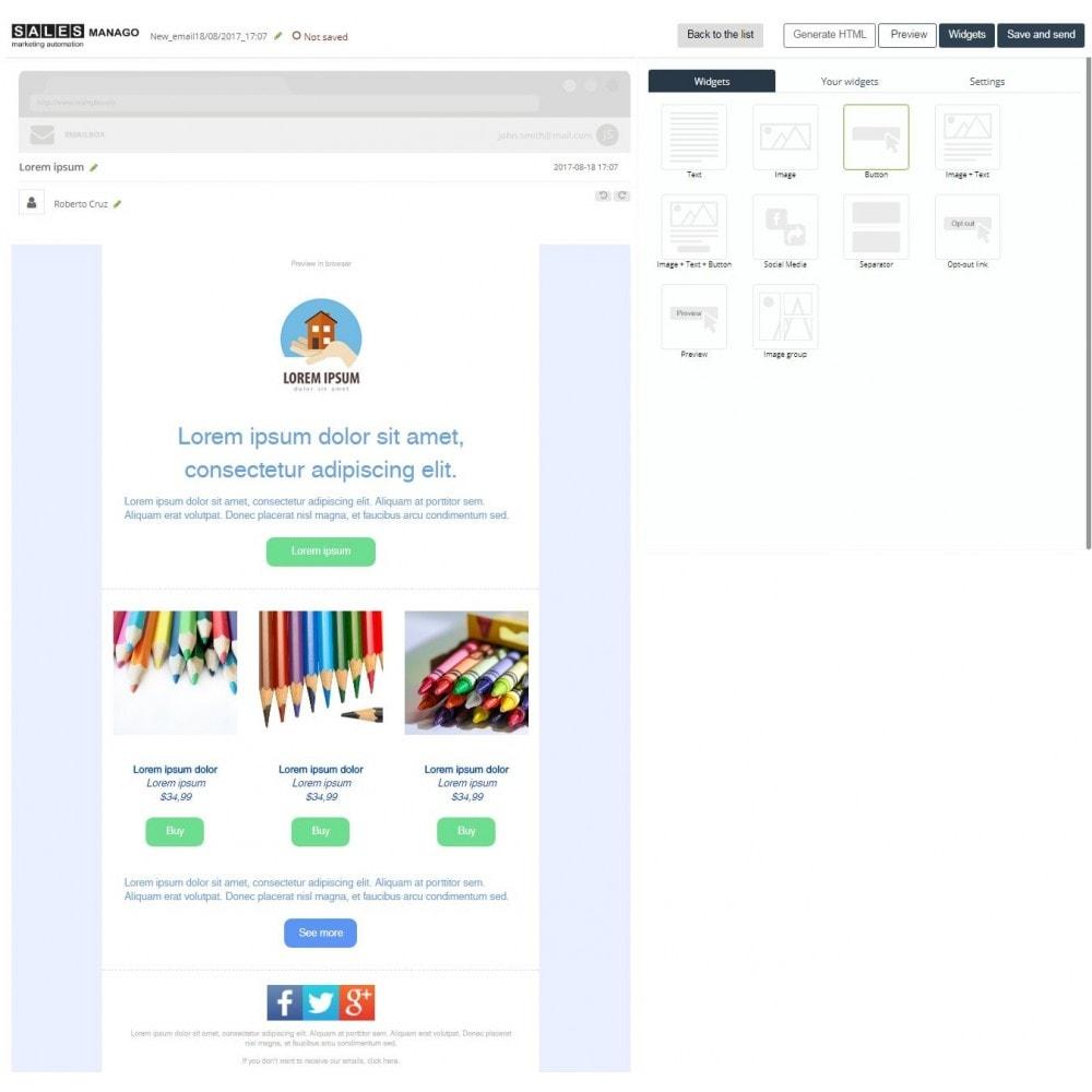 module - Remarketing y Carritos abandonados - SALESmanago Marketing Automation para eCommerce - 4