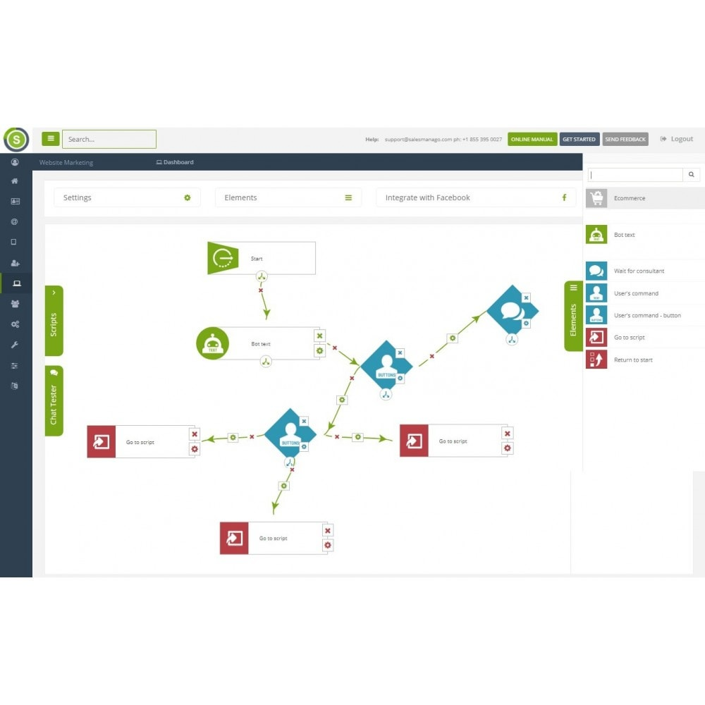 module - Remarketing & Opuszczone koszyki - SALESmanago Marketing Automation for eCommerce - 7