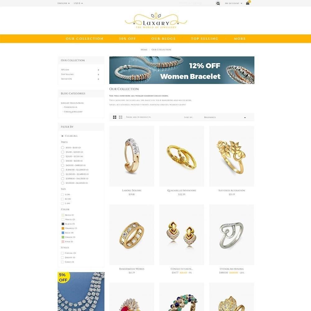 theme - Schmuck & Accesoires - Luxury Jewellery Store - 3