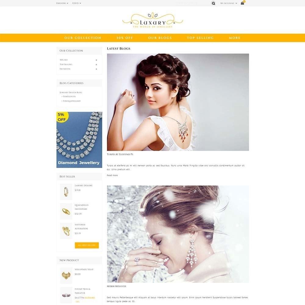theme - Schmuck & Accesoires - Luxury Jewellery Store - 6