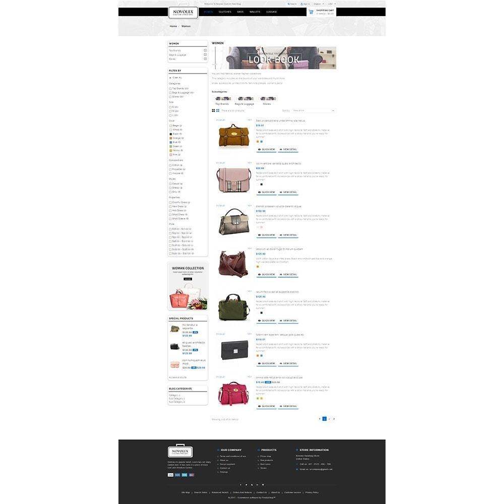 theme - Мода и обувь - Novolex Handbag Store - 4