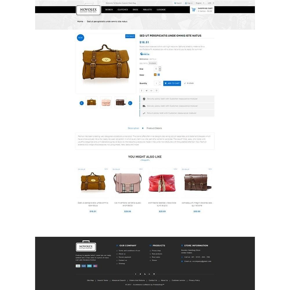 theme - Мода и обувь - Novolex Handbag Store - 5