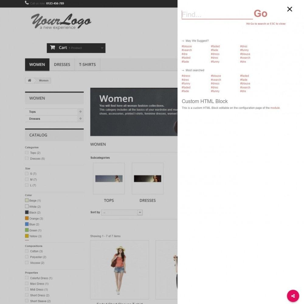 module - Suche & Filter - MEGA Search - Mehrfache Design-Suchblock - 11