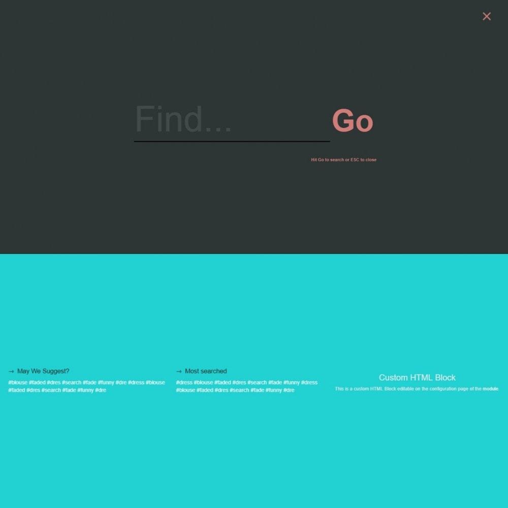 module - Zoeken & Filteren - MEGA Search - Meerdere sjabloon zoekblok - 13
