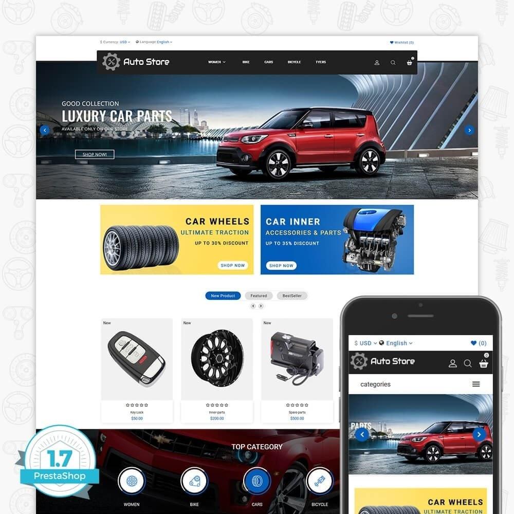 theme - Авто и Мото - Auto Store Store - 1