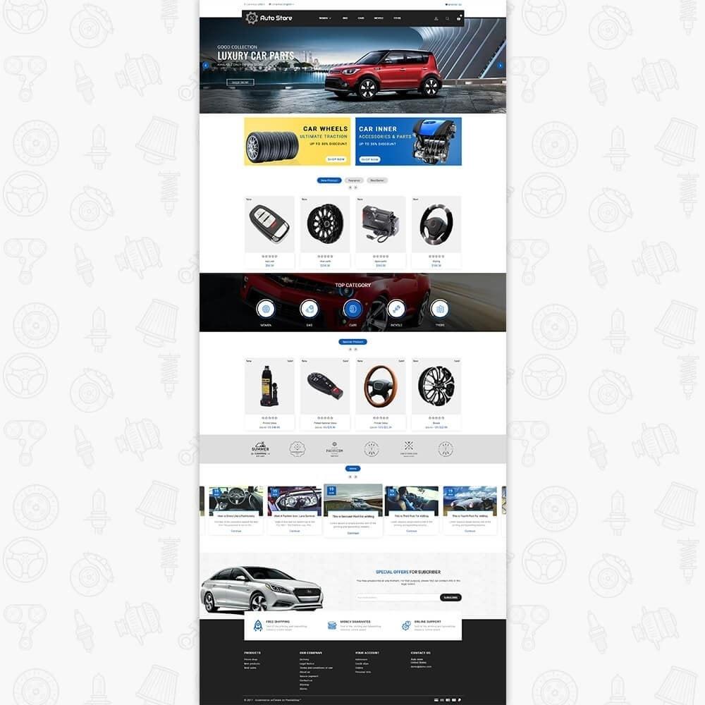 theme - Авто и Мото - Auto Store Store - 2