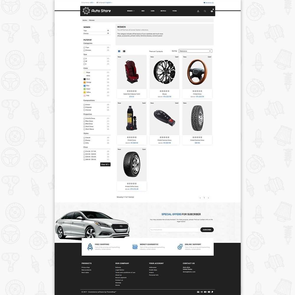 theme - Авто и Мото - Auto Store Store - 3