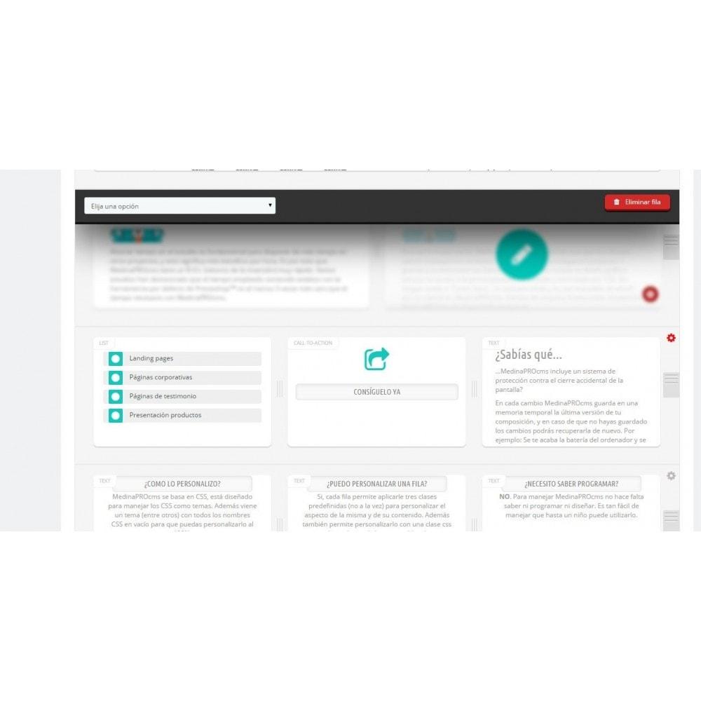 module - Personalización de la página - MedinaPro diseñador de páginas 10 en 1 - 4
