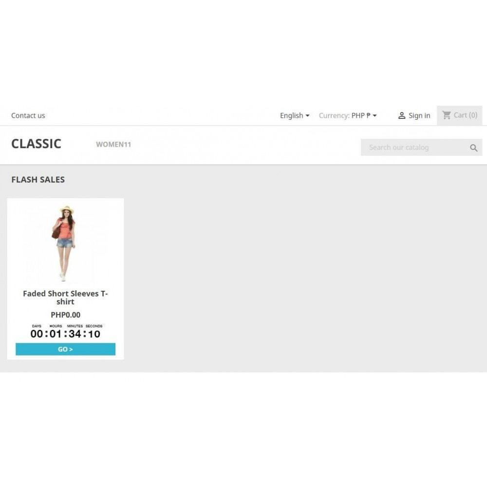module - Ventas Privadas y Ventas Flash - MX Flash Sales - 1