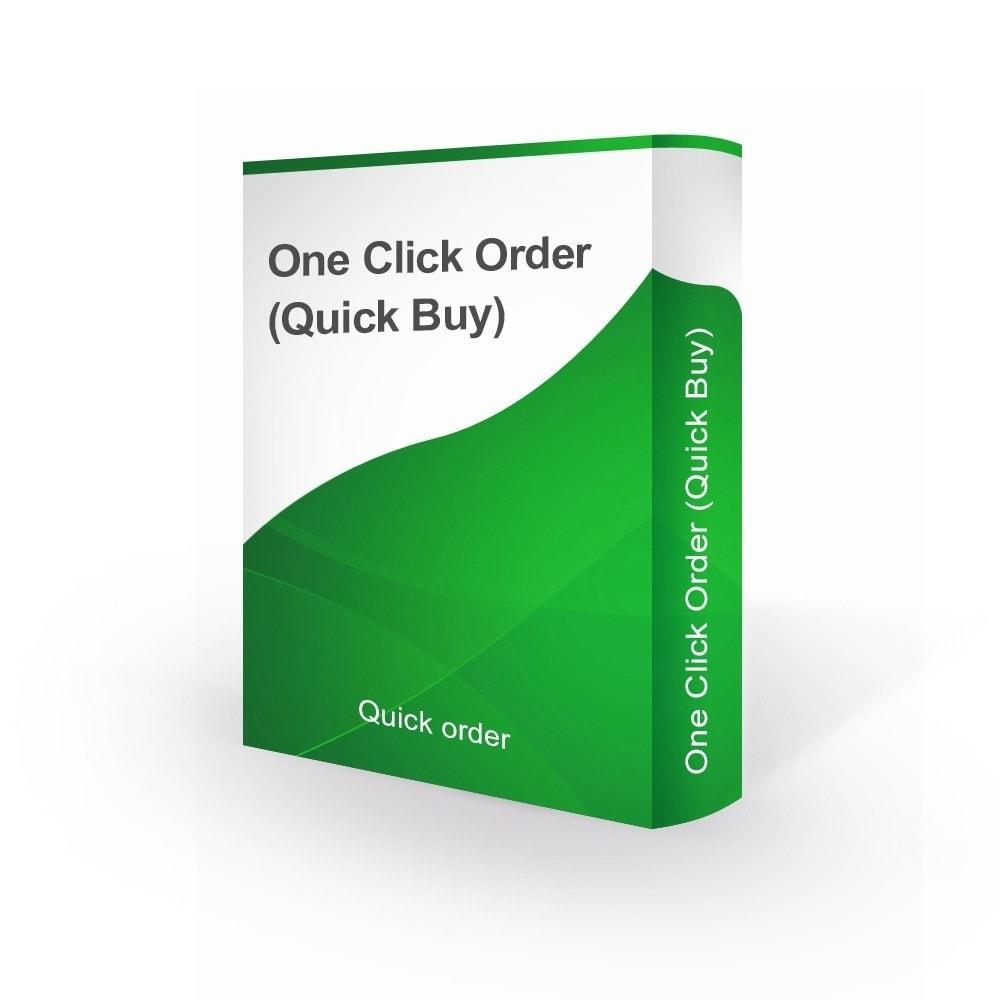 module - Szybki proces składania zamówienia - Checkout One Click Order (Quick Buy) - 1