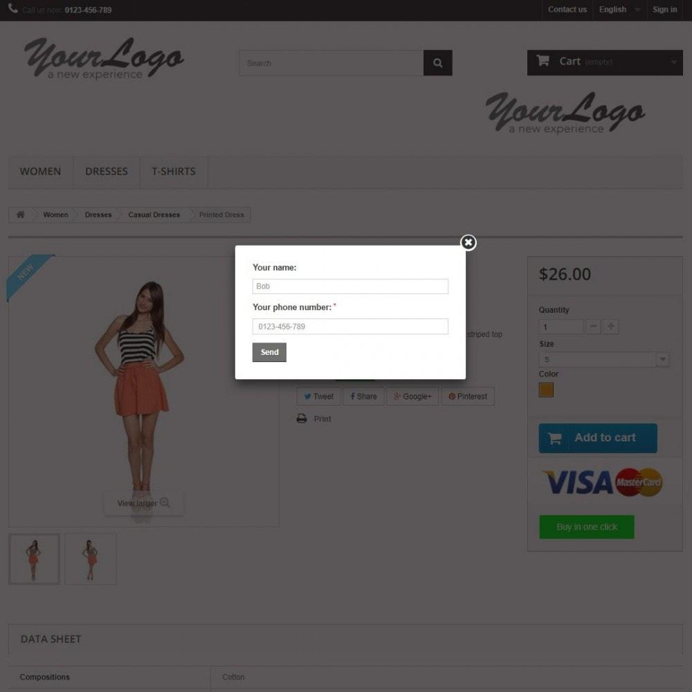 module - Szybki proces składania zamówienia - Checkout One Click Order (Quick Buy) - 2