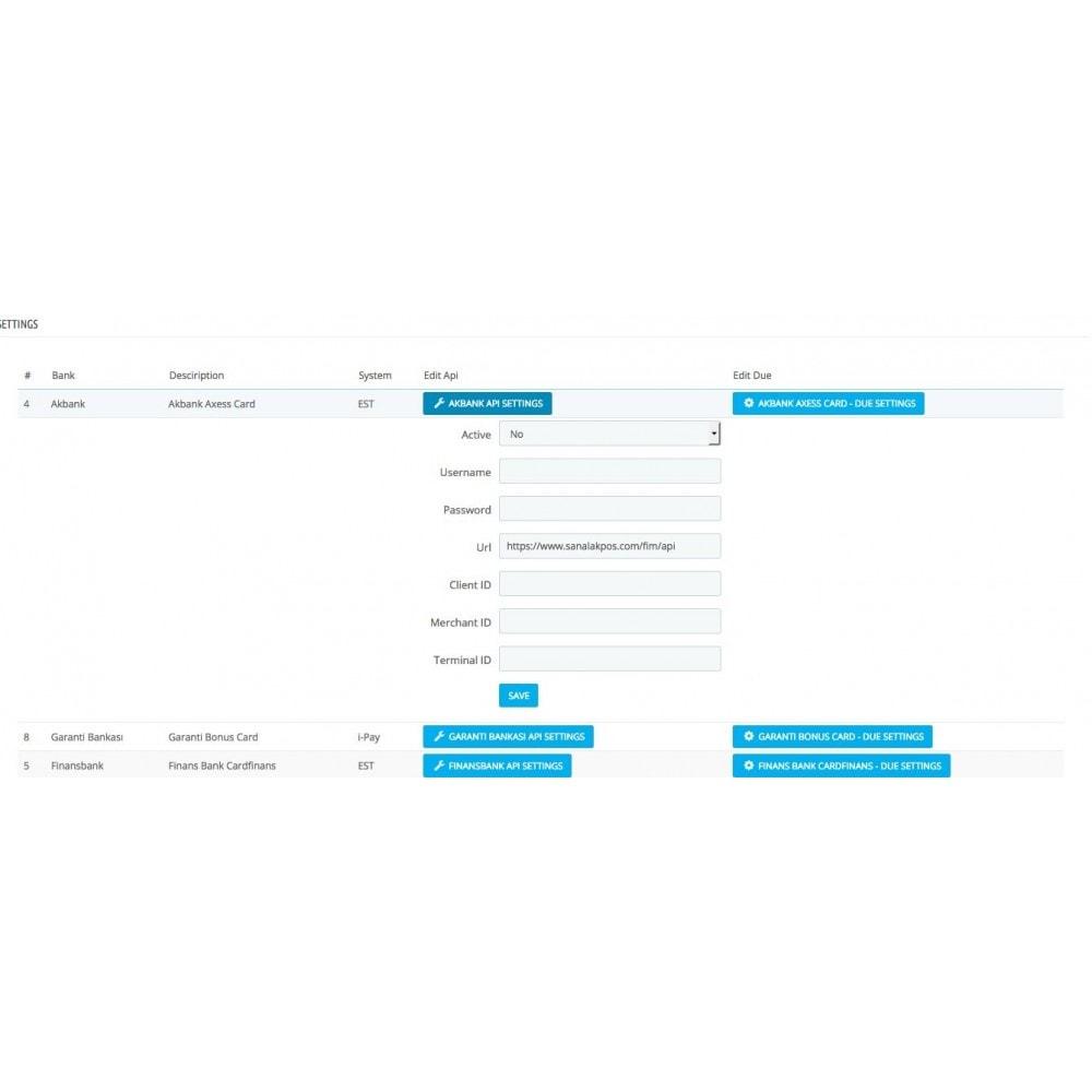module - Pago con Tarjeta o Carteras digitales - Turkish Multibank Payment Module  - Sanalpos - 2