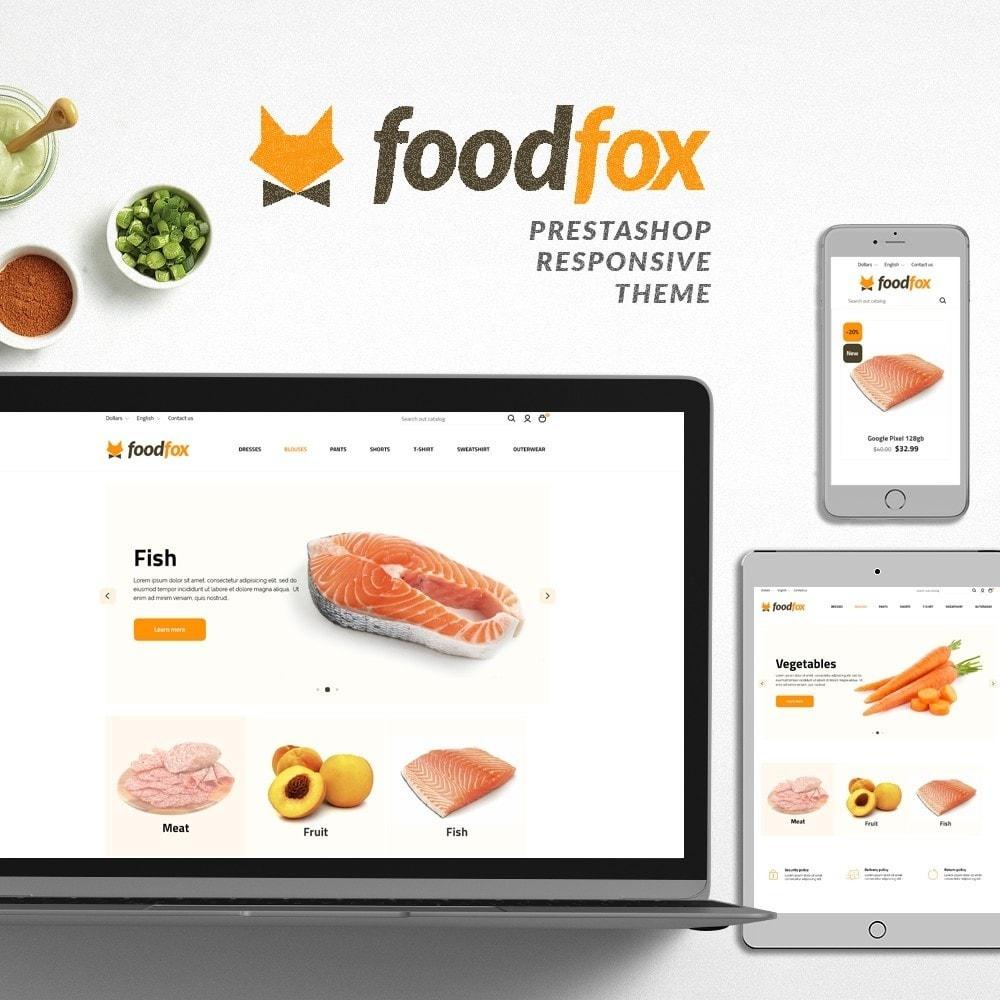 theme - Eten & Restaurant - Foodfox - 1