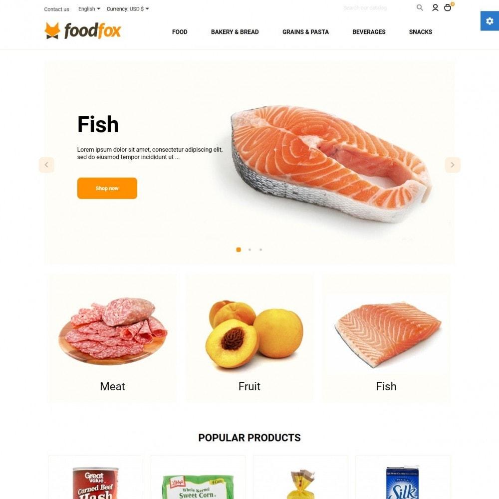 theme - Eten & Restaurant - Foodfox - 2