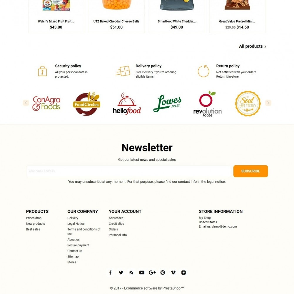 theme - Eten & Restaurant - Foodfox - 4