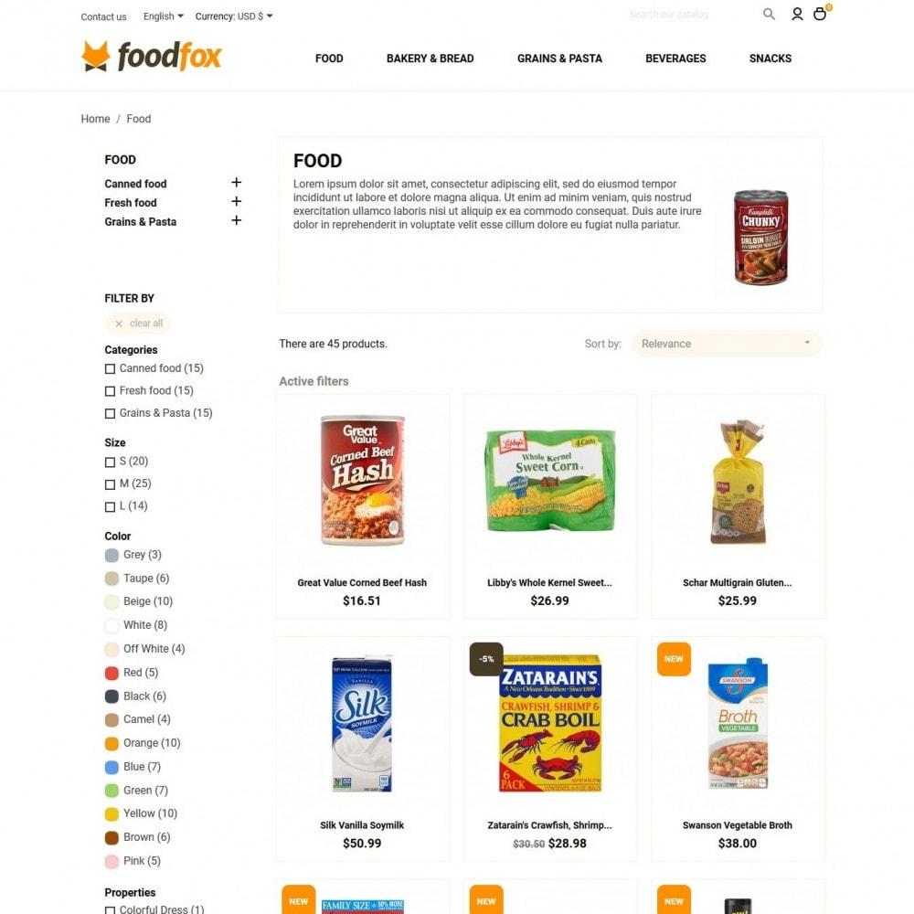 theme - Eten & Restaurant - Foodfox - 5