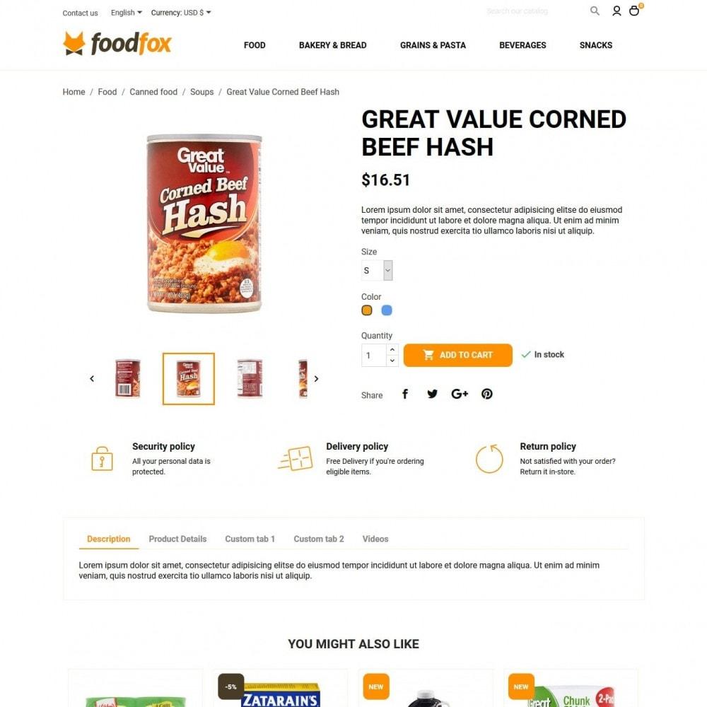 theme - Eten & Restaurant - Foodfox - 6