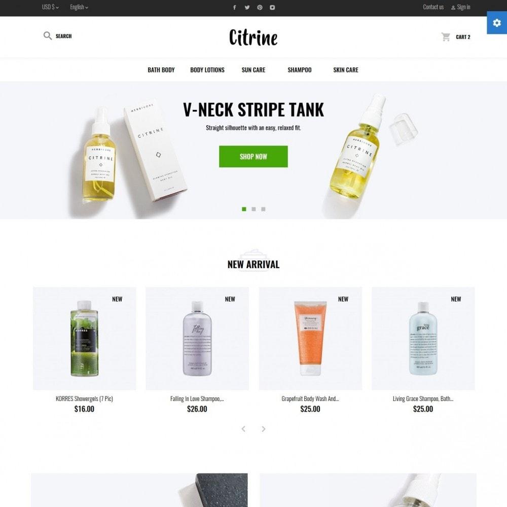 theme - Здоровье и красота - Citrine Cosmetics - 2