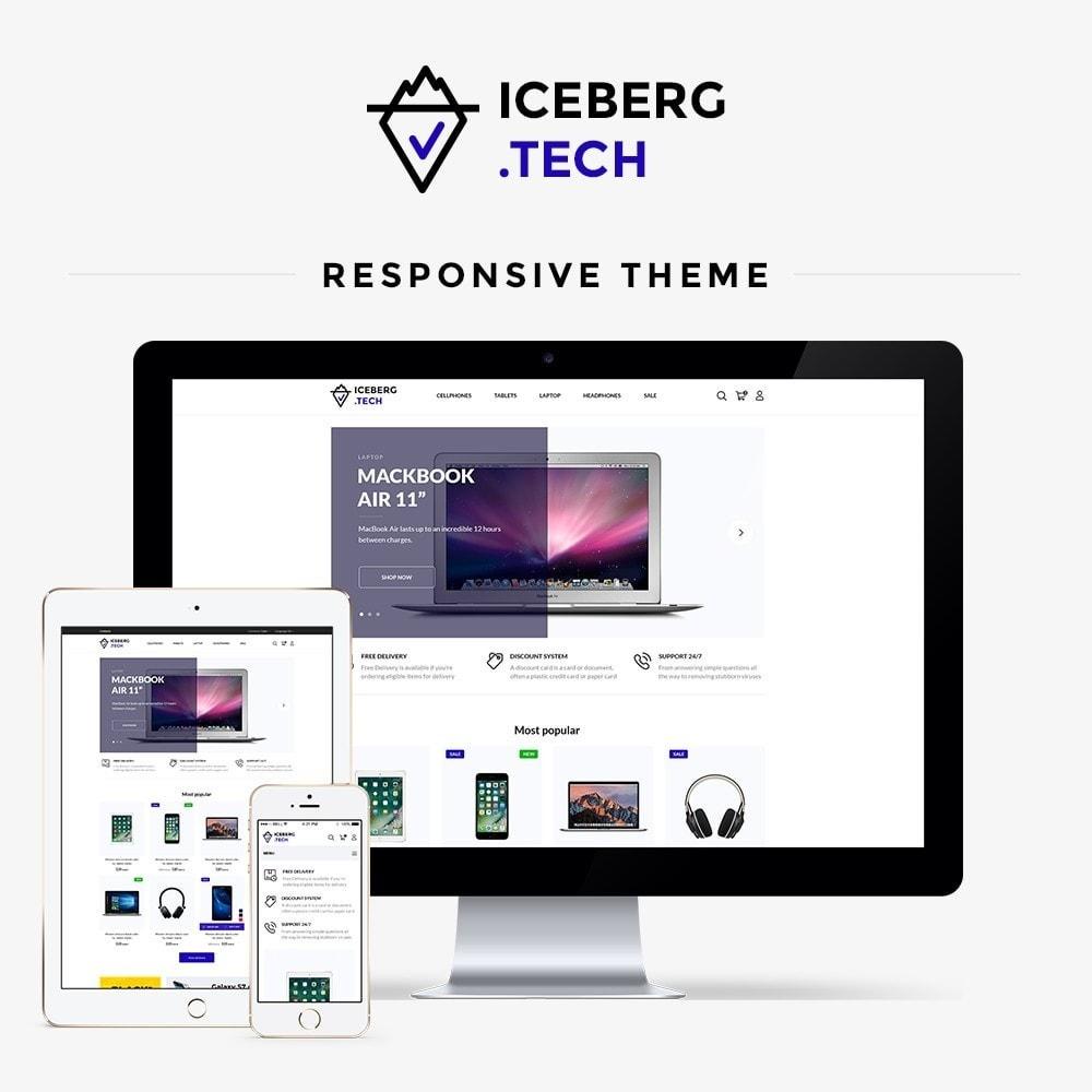 theme - Electronique & High Tech - Iceberg.tech - High-tech Shop - 1