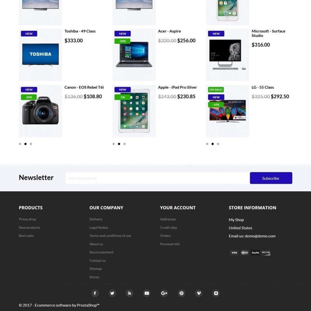 theme - Electronique & High Tech - Iceberg.tech - High-tech Shop - 4