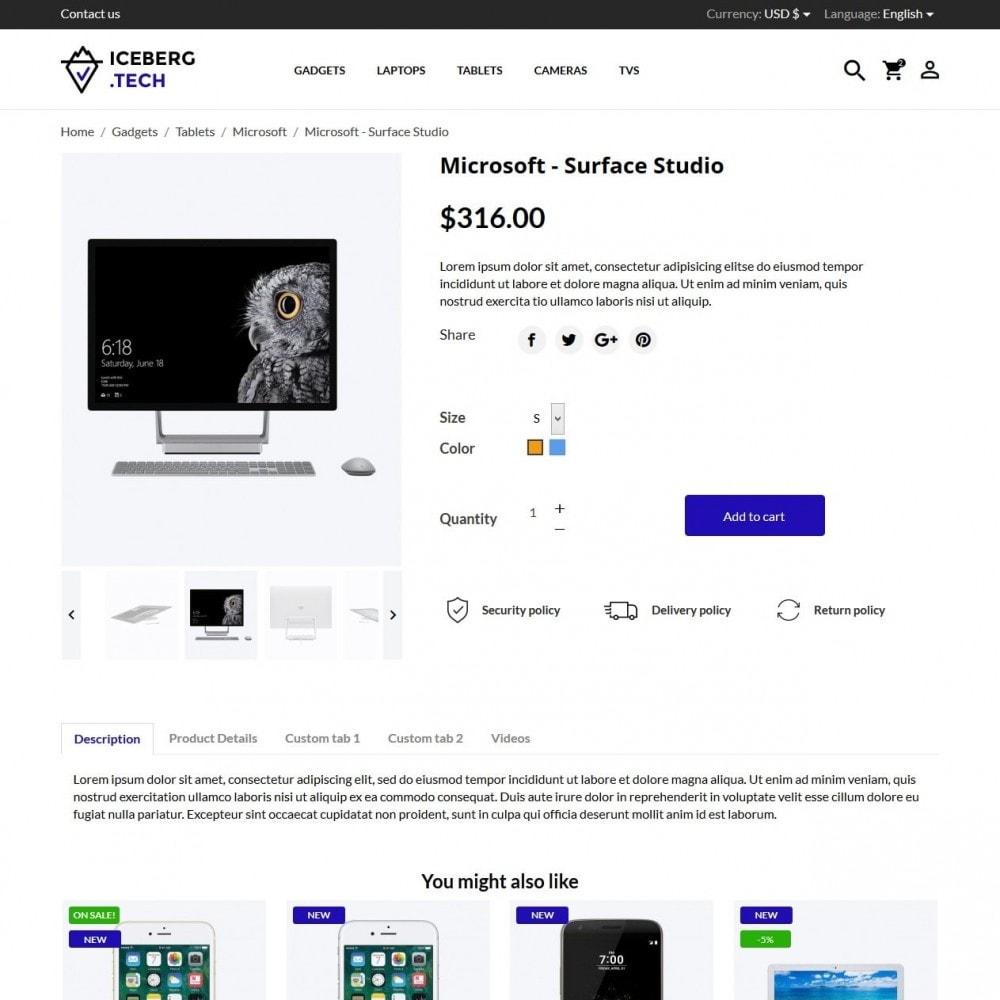 theme - Electronique & High Tech - Iceberg.tech - High-tech Shop - 6