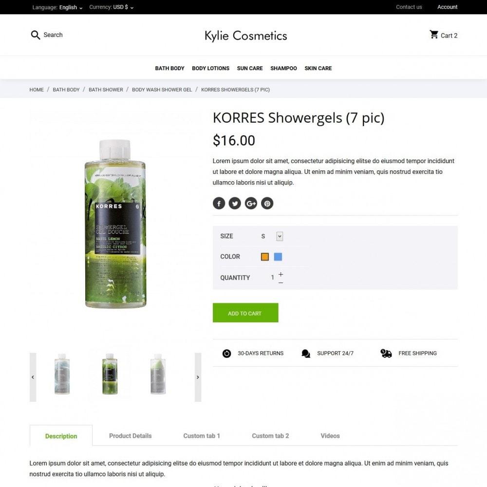 theme - Santé & Beauté - Kylie Cosmetics - 6