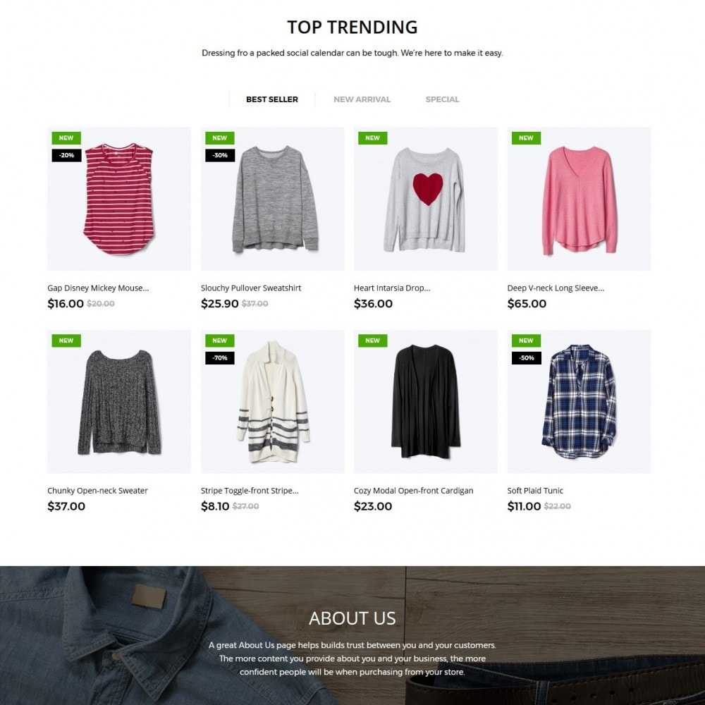 theme - Moda & Obuwie - Ashlee Fashion Store - 3