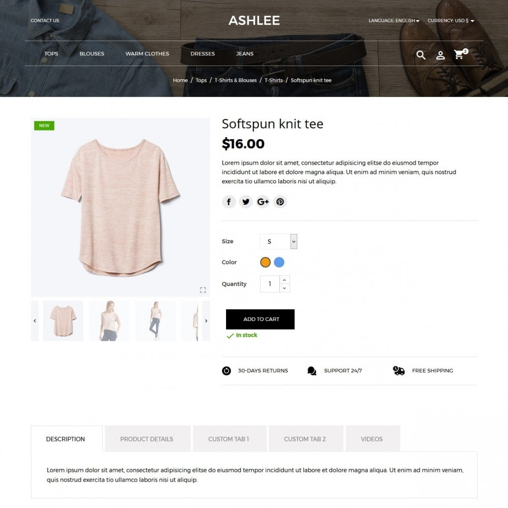 theme - Moda & Obuwie - Ashlee Fashion Store - 6