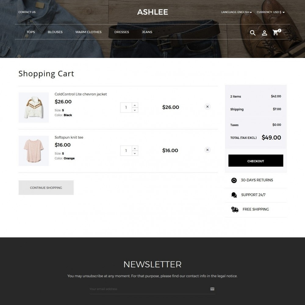 theme - Moda & Obuwie - Ashlee Fashion Store - 7