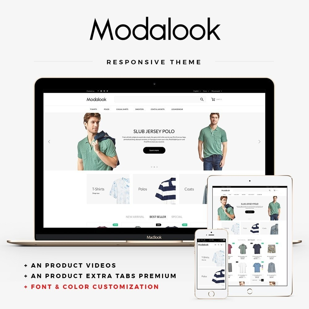 theme - Moda y Calzado - Modalook Men's Wear - 1