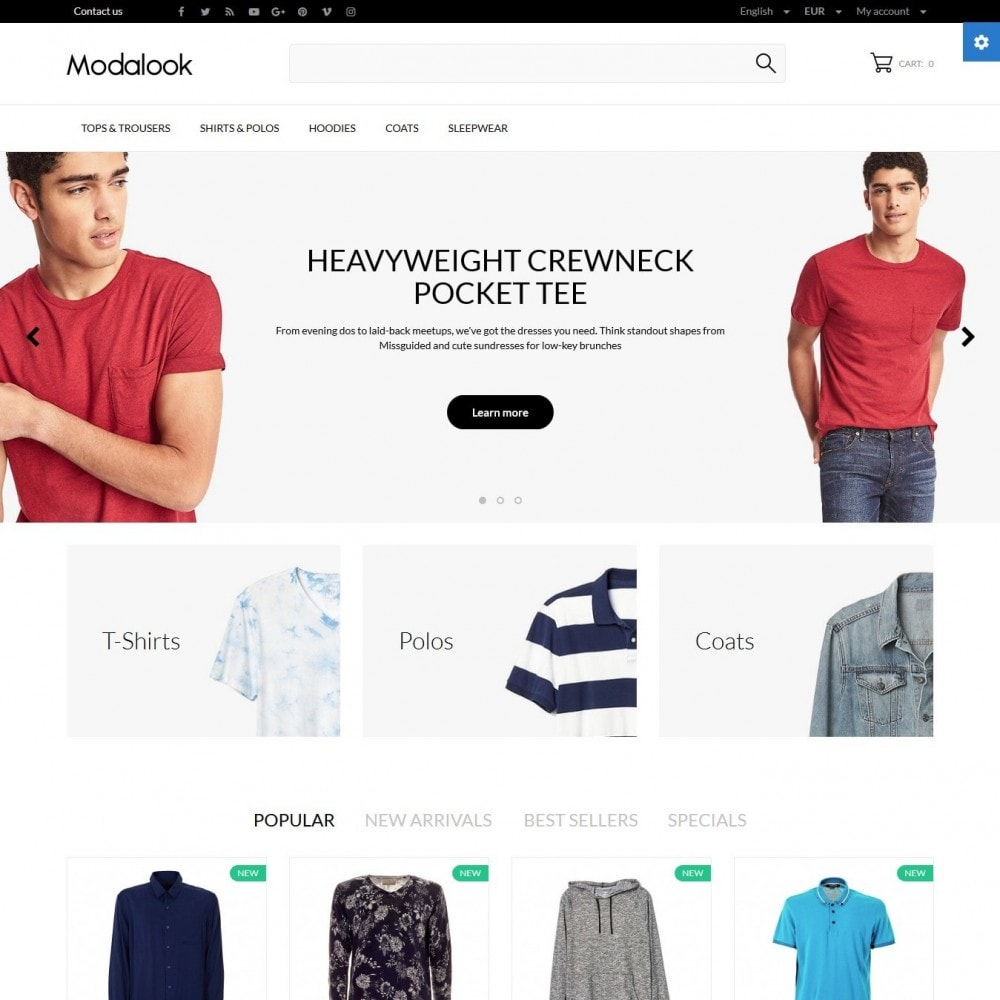 theme - Moda y Calzado - Modalook Men's Wear - 2