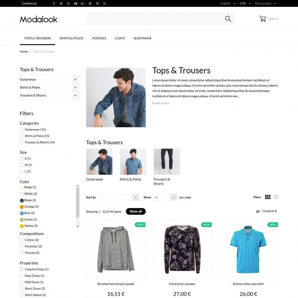 theme - Moda y Calzado - Modalook Men's Wear - 5
