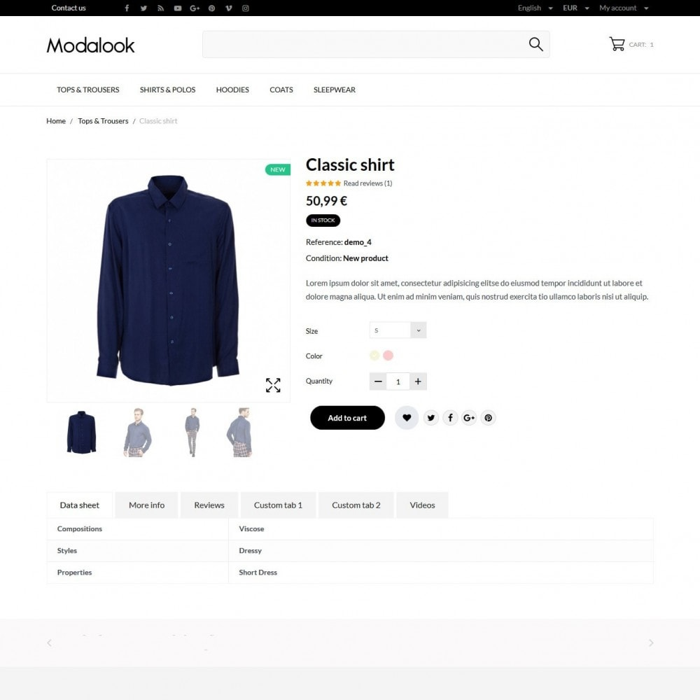 theme - Moda y Calzado - Modalook Men's Wear - 6