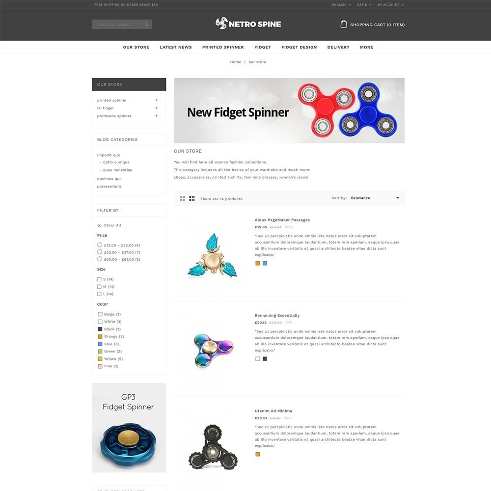 theme - Automotive & Cars - Netrospine Automation store - 4