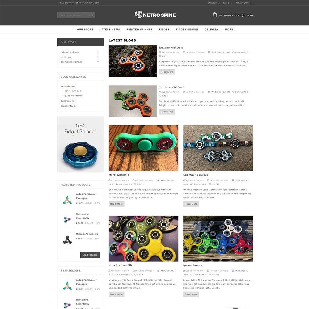 theme - Automotive & Cars - Netrospine Automation store - 6