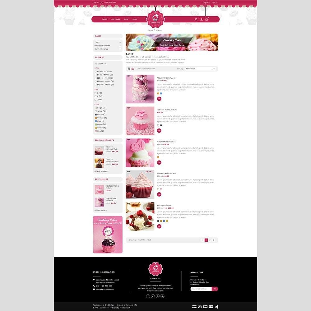 theme - Cadeaus, Bloemen & Gelegenheden - Cake House - 4