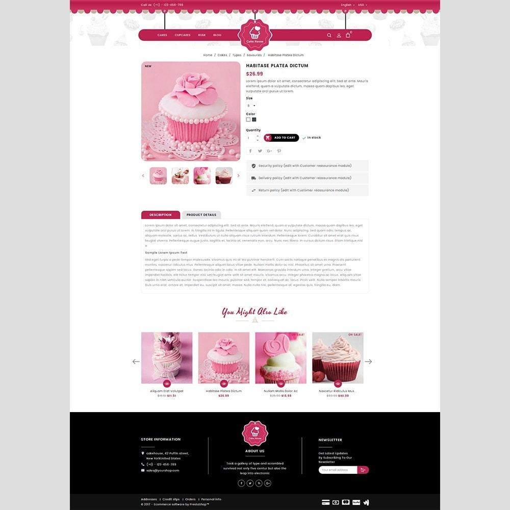 theme - Cadeaux, Fleurs et Fêtes - Cake House - 5