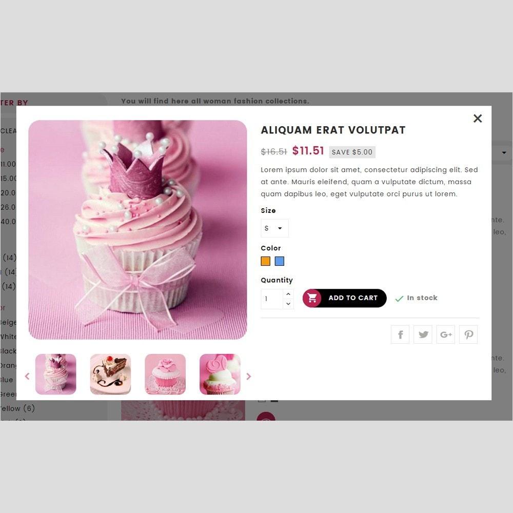 theme - Cadeaux, Fleurs et Fêtes - Cake House - 6